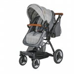 Carucior transformabil 3 in 1 Coccolle Ambra Urban Grey