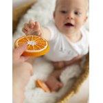 Jucarie pentru dentitie Clementino cel portocaliu