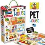Joc Montessori Casuta animalelor de companie