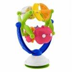 Jucarie Chicco cu melodii pentru scaun de masa Fructe muzicale 6 luni+