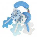 Jucarie pentru dentitie Rattle Keys Blue