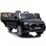 Masinuta electrica roti EVA 12V Audi Q8 negru