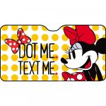 Parasolar pentru parbriz Minnie Dot Me Maxi 150x80 cm Disney CZ10258