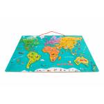 Puzzle magnetic Harta lumii