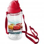 Sticla pentru copii Cars cu pai 450 ml Star