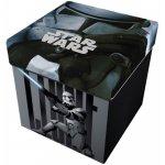 Taburet pliabil cu spatiu de depozitare Star Wars Star