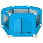Tarc de joaca copii textil 125x65 cm Iso Trade albastru