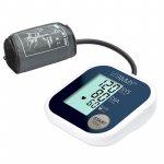 Tensiometru electronic de brat Vitammy Super Beat manseta 22-42 cm albastru/auriu
