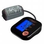 Tensiometru electronic de brat Vitammy Ultra Beat manseta 22-42 cm negru/roz