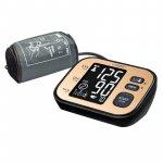Tensiometru electronic de brat Vitammy Ultra Cosmo manseta 22-42 cm negru/auriu