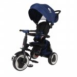 Tricicleta pliabila pentru copii Qplay Rito+ Albastru