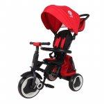 Tricicleta pliabila pentru copii Qplay Rito+ Rosu