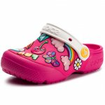 Slapi Crocs FL Playful Patches Clg K Paradise Pink 23 (142 mm - C7)