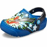 Slapi Crocs Fan Lab Guitar Lights Clog K Blue Jean 24 (149 mm - C8)
