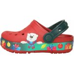 Slapi Crocs Fun Lab Holiday Lights Clog K Pepper White 24 (149 mm - C8)