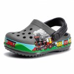 Slapi Crocs Train Band Clog K Slate Grey 20 (123 mm - C5)