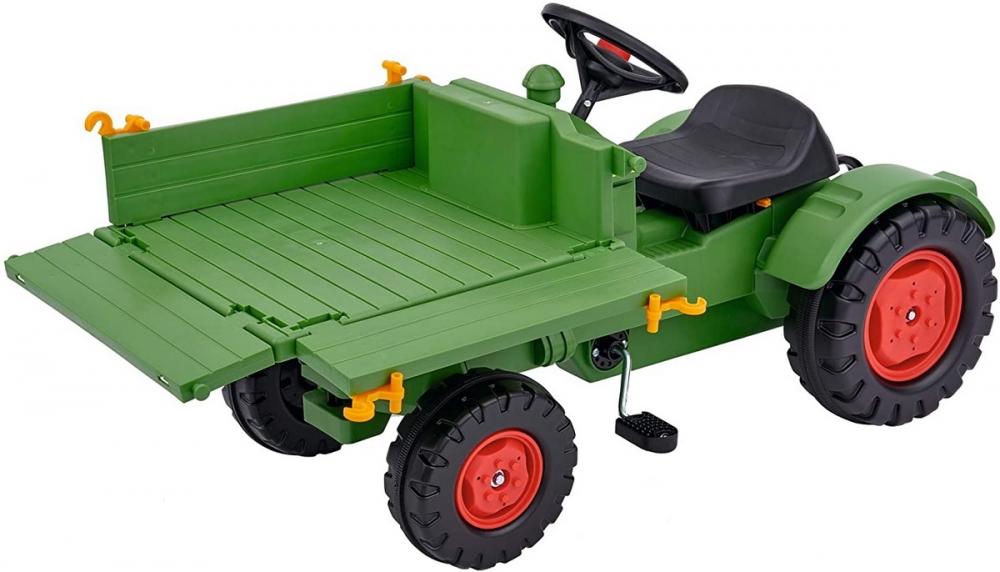 Tractor Big Fendt cu pedale si platforma imagine