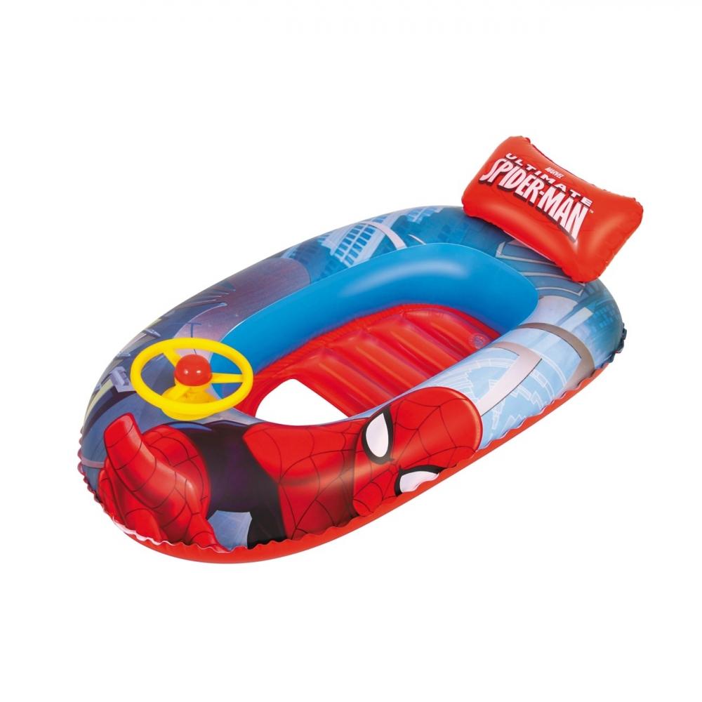 Barca gonflabila Spider-Man cu volan imagine