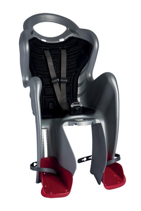Bellelli Scaun bicicleta pentru copii Bellelli Mr Fox Relax B-Fix Silver