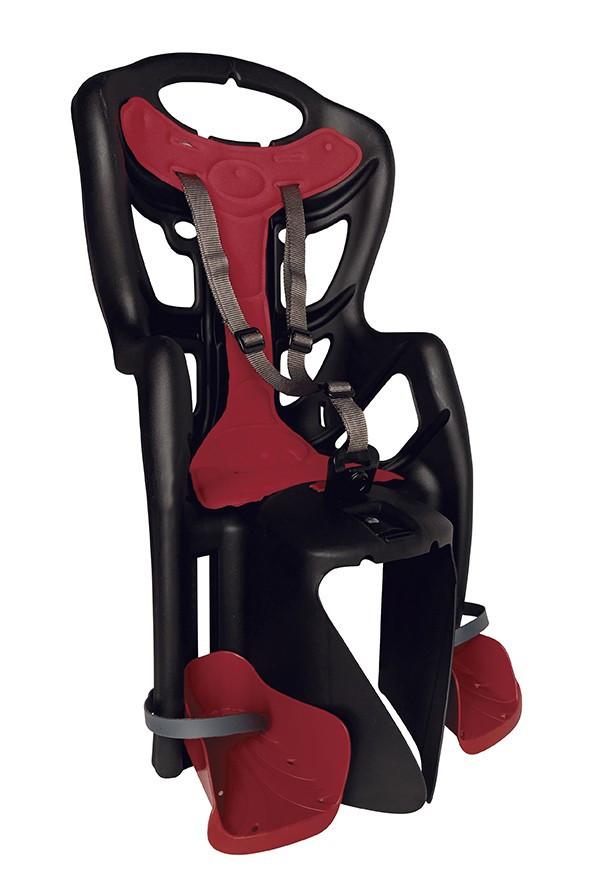 Bellelli Scaun bicicleta pentru copii Bellelli Pepe Standard Multifix Black