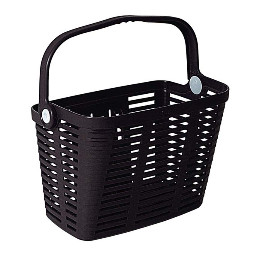 Cos pentru bicileta plastic Bellelli Plaza negru