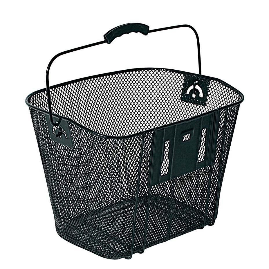 Cos pentru bicicleta din metal negru Bellelli imagine