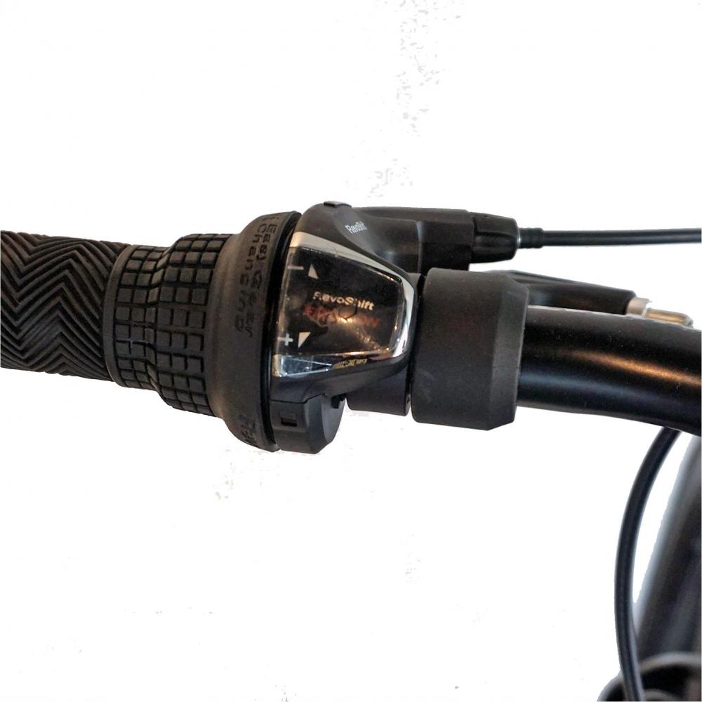 Bicicleta Fat Bike Carpat Hercules 26 C2619B frane mecanice disc negrualbastru imagine
