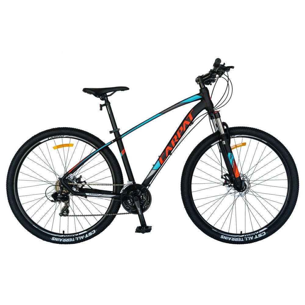 Bicicleta MTB-HT 27.5 Carpat C2757C 24 viteze negrualbastru