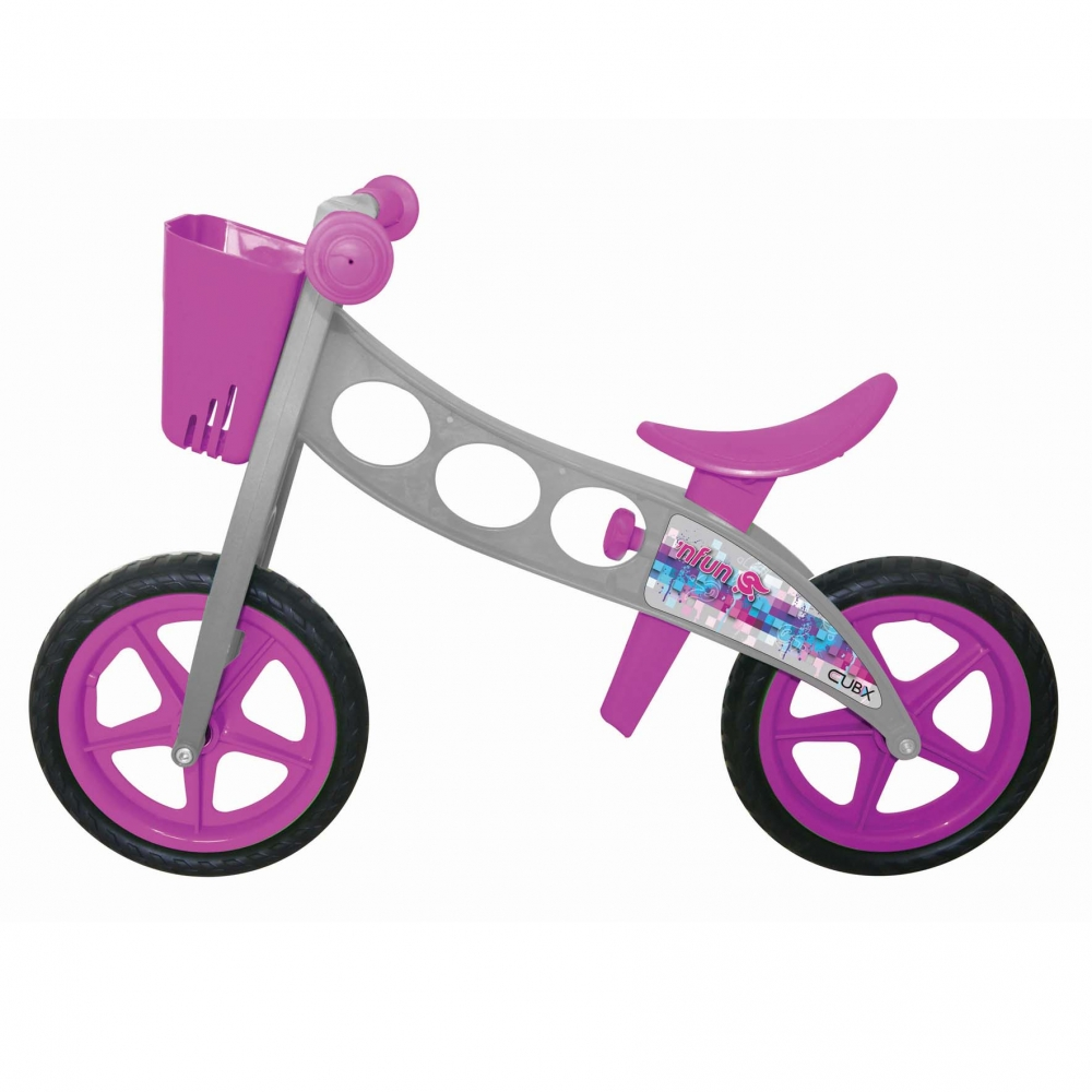 Bicicleta fara pedale pedagogica Nfun Nride cubix grimov