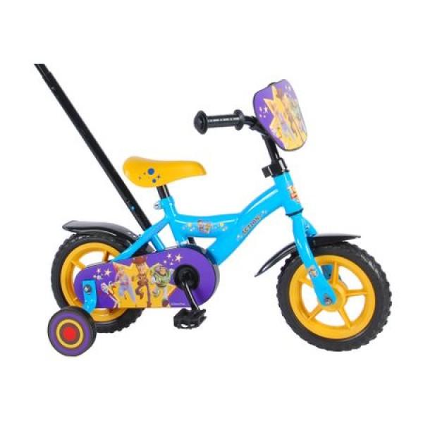 Bicicleta pentru baieti 10 inch cu roti ajutatoare Volare Toy Story 4 91007