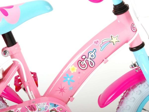 Bicicleta pentru copii 12 inch cu roti ajutatoare Volare OJO Children 91229-IT imagine