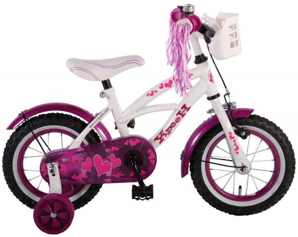 Bicicleta pentru copii 12 inch cu roti ajutatoare si frana de mana Volare Heart Cruiser 61209 imagine