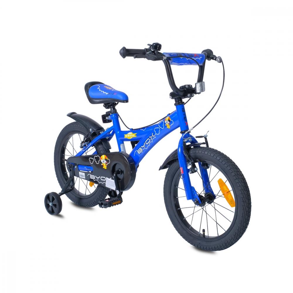 Bicicleta pentru copii Byox Devil 16 Albastra