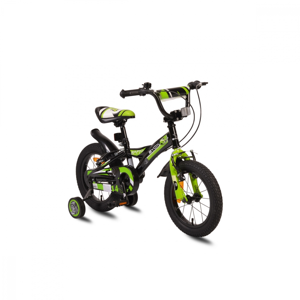 Bicicleta pentru copii Byox Rapid 14 inch Green New