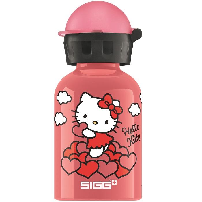 Bidon din aluminiu Sigg Hello Kitty heart 0.3l imagine