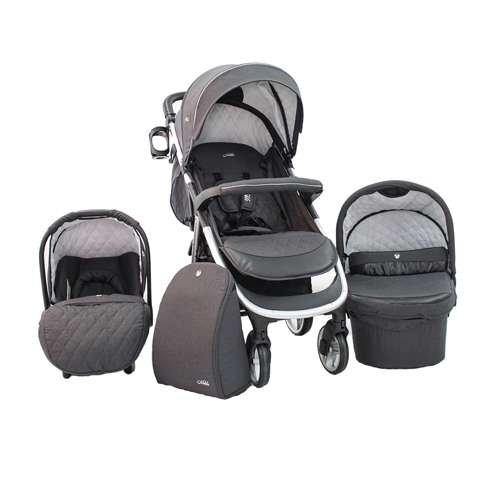 CANGAROO Carucior 3 in 1 Cangaroo Noble Dark Grey