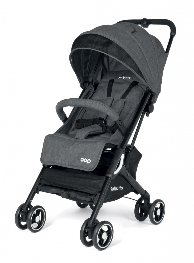 Carucior Burigotto by Peg Perego Light Grey 0 - 22 kg imagine