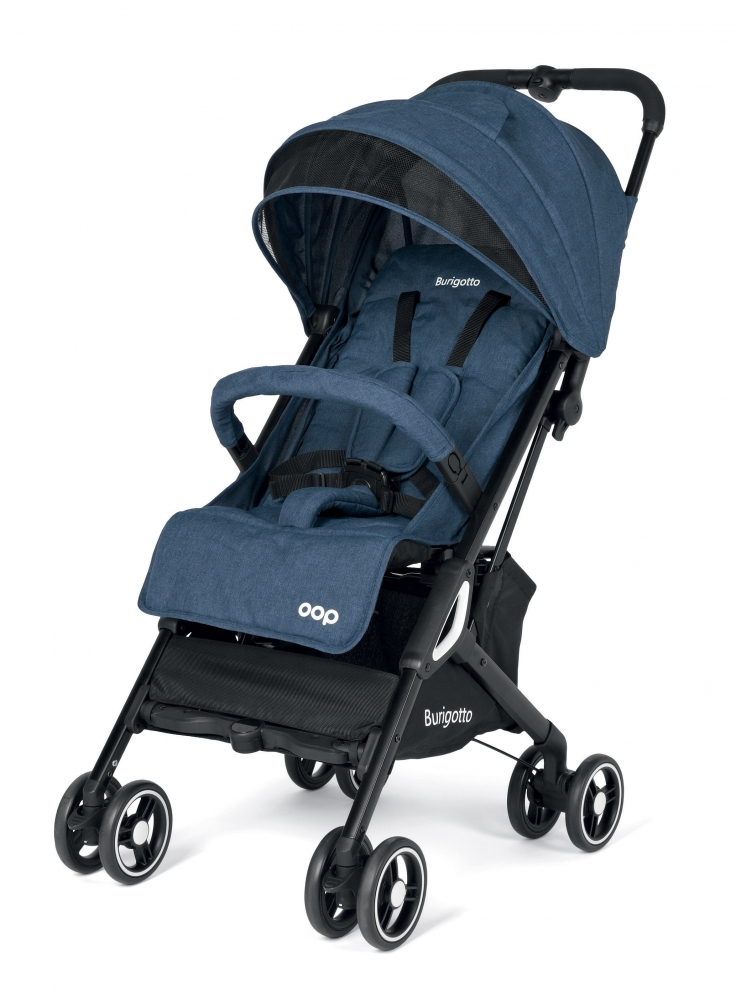 Carucior Burigotto by Peg Perego Navy 0 - 22 kg imagine