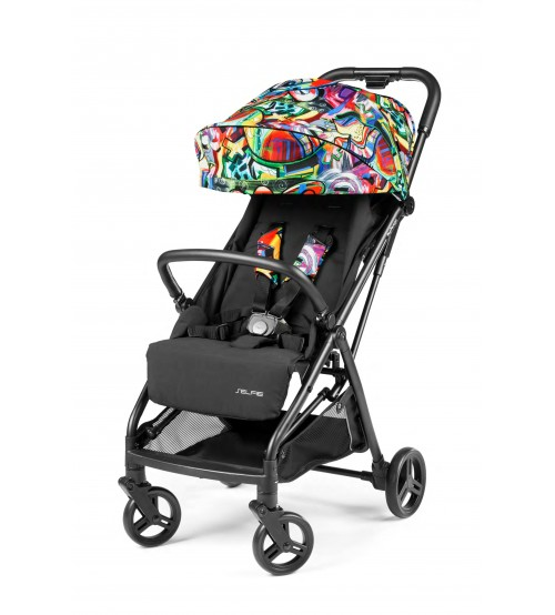 Carucior Peg Perego Selfie Street Art imagine