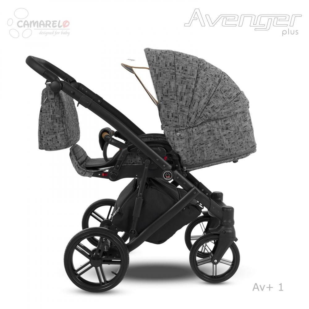 Carucior copii 2 in 1 Avenger Plus AV+1 Camarelo