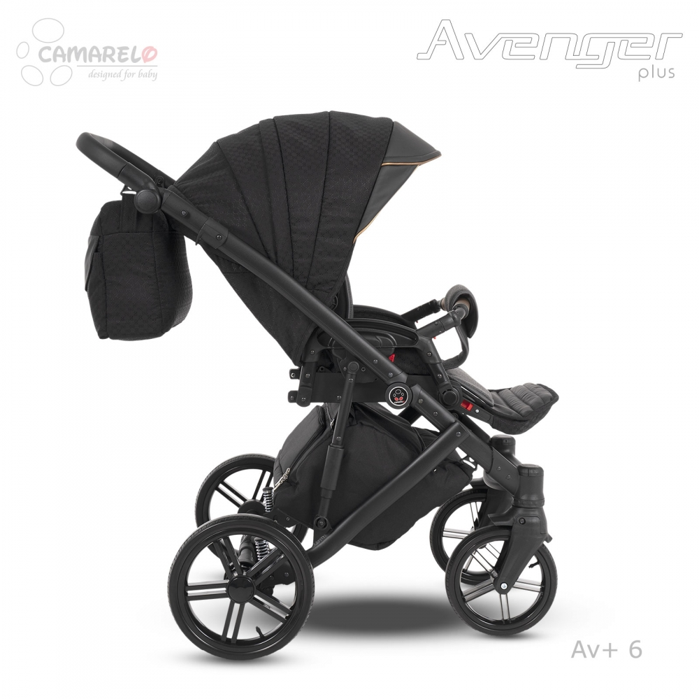 Carucior copii 2 in 1 Avenger Plus AV+6 Camarelo