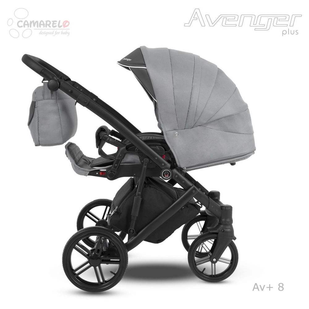Carucior copii 2 in 1 Avenger Plus AV+8 Camarelo imagine