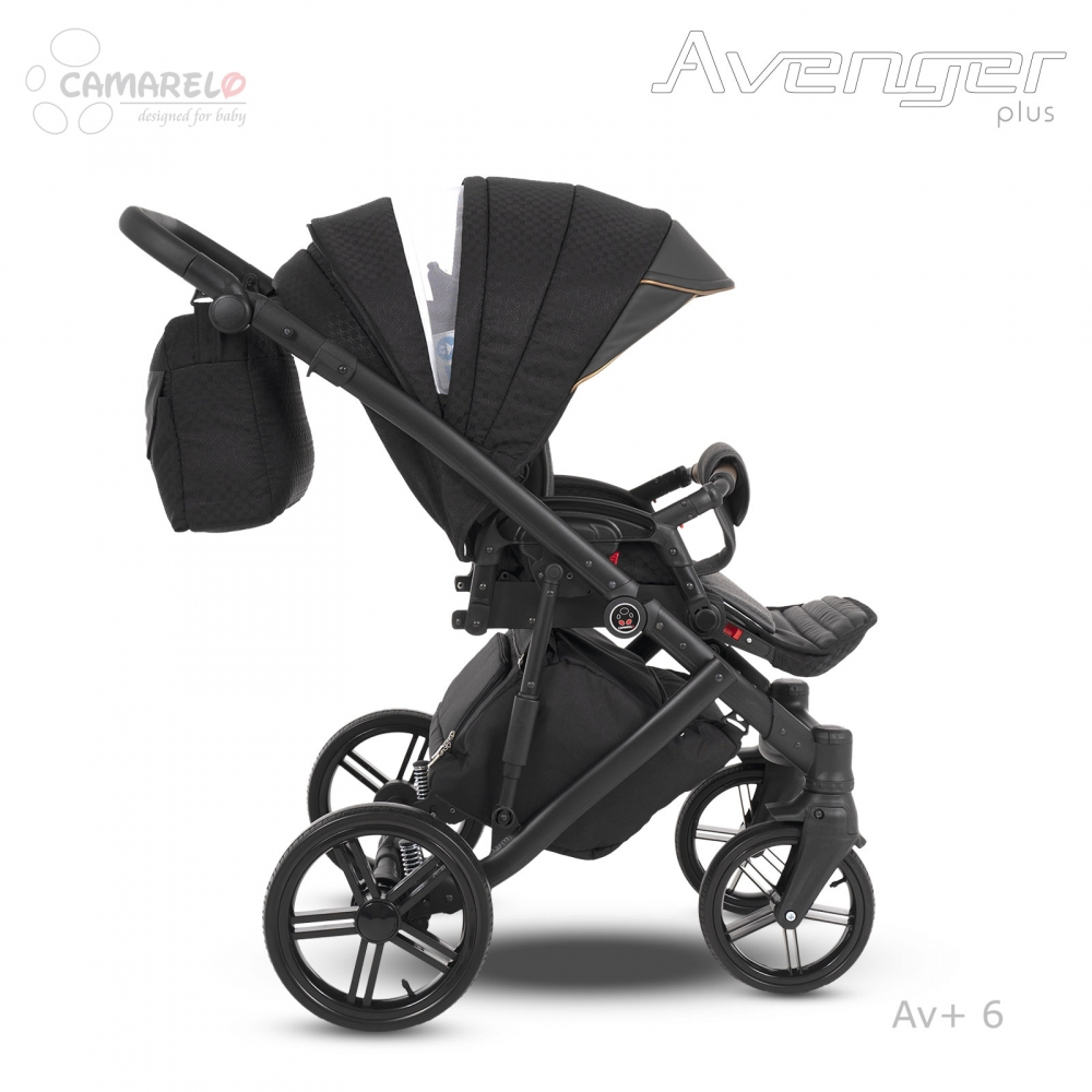 Carucior copii 3 in 1 Avenger Plus AV+6 Camarelo imagine