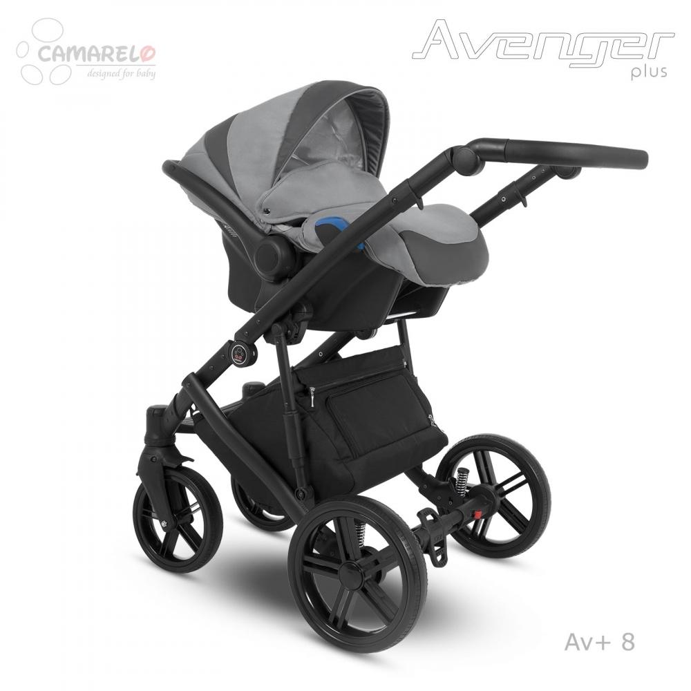 Carucior copii 3 in 1 Avenger Plus AV+8 Camarelo