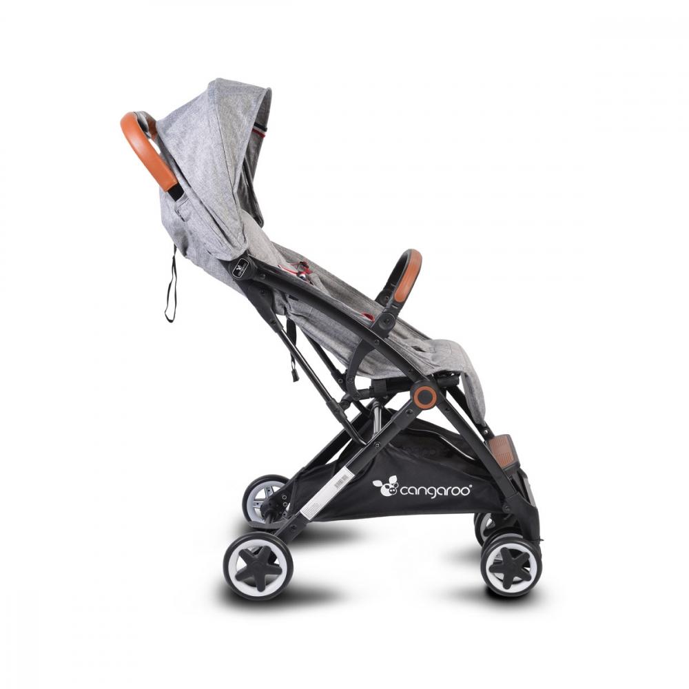 Carucior sport cu pliere compacta Paris Grey - 9