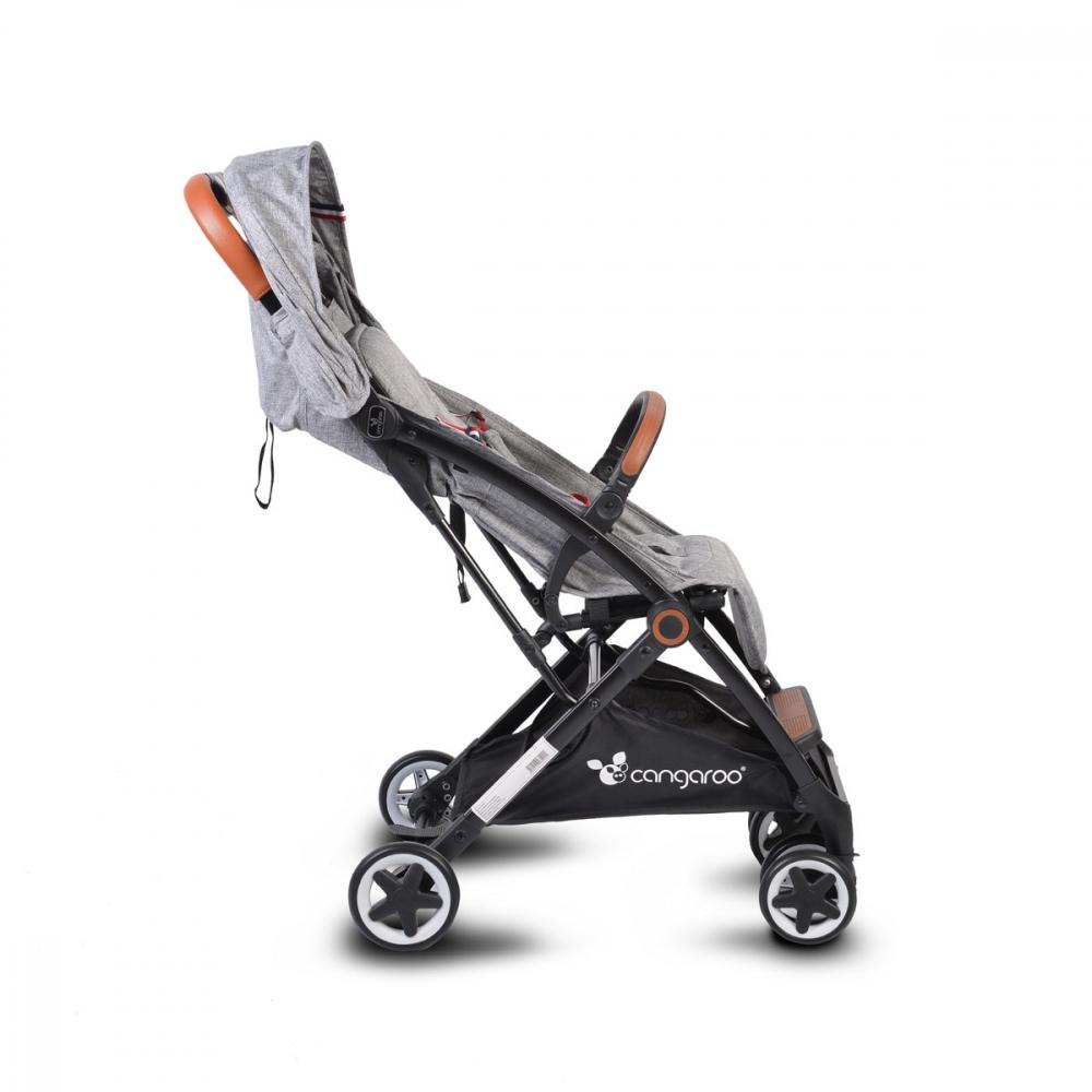 Carucior sport cu pliere compacta Paris Grey - 10