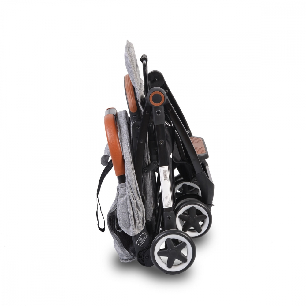 Carucior sport cu pliere compacta Paris Grey - 11