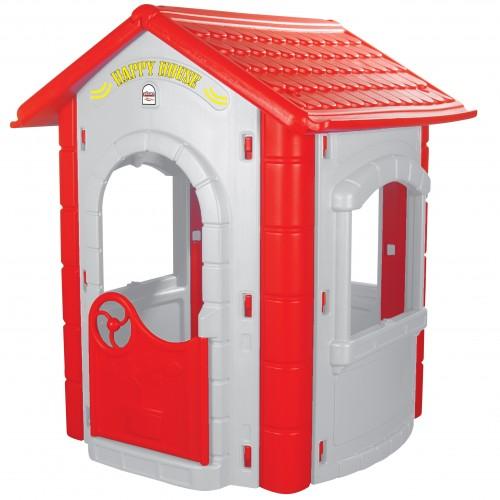 Casuta pentru copii Happy House Grey imagine