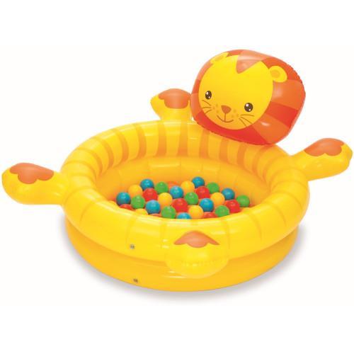 Centru de joaca gonflabil Little Lion cu 50 mingi imagine