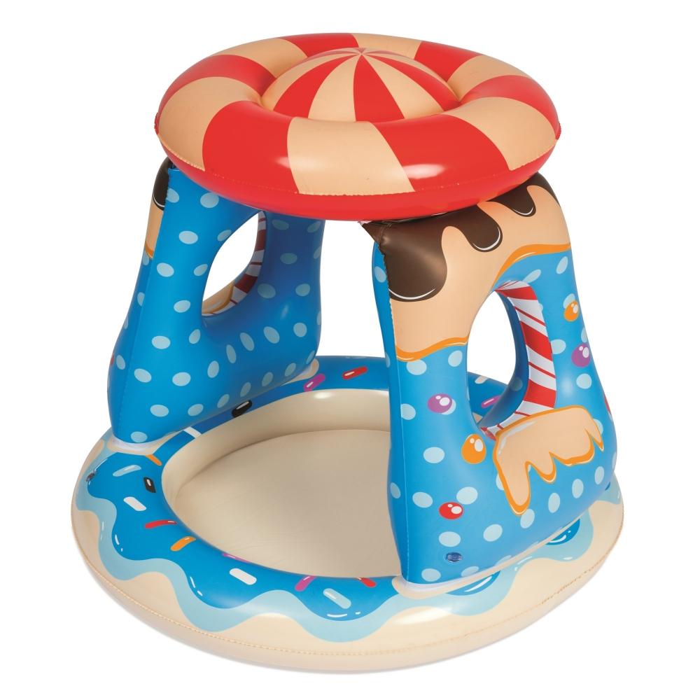 Centru de joaca gonflabil cu parasolar Candyland imagine